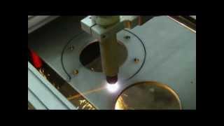 Portabler CNC Plasmabrenner Brennschneider mit Hypertherm Plasmaschneider ab 6900 Euro