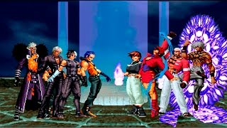 Kof Mugen ¡Soldados NESTS VS Orochi Team!