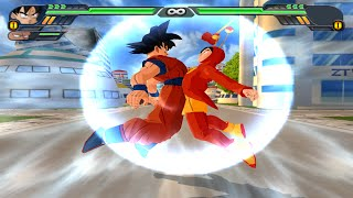 getlinkyoutube.com-Fusion Goku y El Chapulin Colorado | Gochapu vs Bio Broly / Broly SSJ4  DBZ Tenkaichi 3 (MOD)