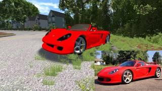 getlinkyoutube.com-BeamNG.Drive - Paul Walker Crash Simulation + TRIBUTE!