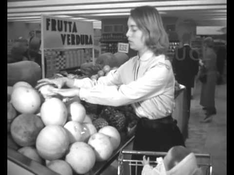 Many Italians were amazed to encounter modernity for the first time. Rome's first supermarket opened in 1956...