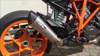 getlinkyoutube.com-KTM 1290 Super Duke R - SC-Project exhaust
