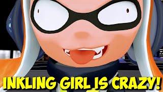 "getlinkyoutube.com-MMD Splatoon - ""Inkling Girl Is Crazy!"" - Francium funny animation"