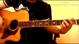 "getlinkyoutube.com-Hawak Kamay Chords ""Yeng Constantino"" ChordsWorld.com Guitar Tutorial"