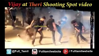 getlinkyoutube.com-Actor Vijay at Theri shooting spot leaked Video