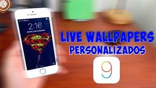 getlinkyoutube.com-COMO PONER LIVE WALLPAPERS PERSONALIZADOS IOS 9 PARA IPHONE Y IPOD (IPAD) 2016