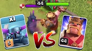 getlinkyoutube.com-WHO IS STRONGER? 2!!!🔸MAX PEKKA vs. LVL 44 KING!!🔸 Clash of clans