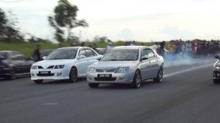 getlinkyoutube.com-Waja CPS vs Waja 1.6 vs Wira 1.8 @ Lutong