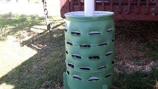getlinkyoutube.com-Around the Home: #2 Making a Garden Barrel