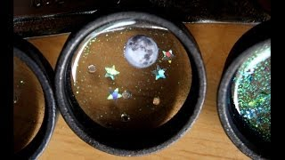 getlinkyoutube.com-Floating Outer Space Resin Charm Tutorial -- Permanent Floating Charms!
