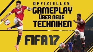 FIFA 17 - NEUE ANGRIFFSTECHNIKEN - GAMEPLAY ● ANALYSE - New Attacking Techniques | Anthony Martial
