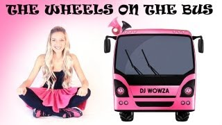getlinkyoutube.com-The Wheels on the Bus - Pink Bus