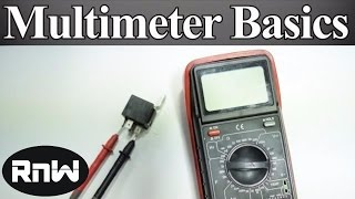 getlinkyoutube.com-How to Use a Multimeter for Beginners - How to Measure Voltage, Resistance, Continuity and Amps