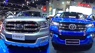 getlinkyoutube.com-New Ford Everest 2016, 2017 VS Toyota Fortuner 2016, 2017