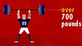 getlinkyoutube.com-J.J. Watt is not human (NFL infographic)