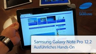 getlinkyoutube.com-Samsung Galaxy Note 12.2 Pro ausführliches Hands On deutsch HD