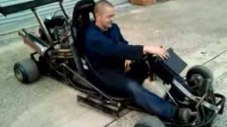 getlinkyoutube.com-GSXR Go Cart - 1100cc GoKart!!