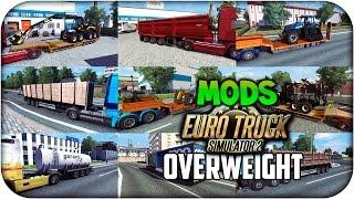 "getlinkyoutube.com-Cargas largas ""Overweight"" | Euro truck simulator 2 | 1.17 -- 1.18"