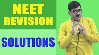 Solutions Revision NEET-2018 width=