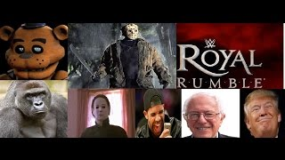 getlinkyoutube.com-WWE 2k16 Royal Rumble Created Characters Last WWE 2k16 Match