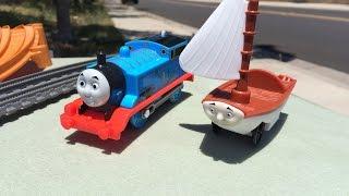 getlinkyoutube.com-Thomas and Friends  Play Set Trackmaster Treasure Chase Set Legend of the Lost Treasure