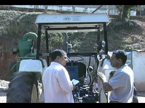 Reportagem TV Alterosa acidente com trator