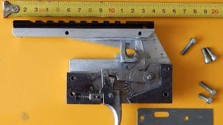 getlinkyoutube.com-Спусковое устройство (замок) арбалета своими руками / homemade crossbow trigger