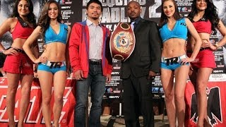 Manny Pacquiao vs. Timothy Bradley 2- Press conference video highlights [HD]