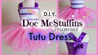 getlinkyoutube.com-DIY Doc McStuffins Costume Tutu Dress