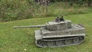 getlinkyoutube.com-1/6 Scale RC Tiger 1 Tank