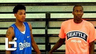 getlinkyoutube.com-Dejounte Murray Has That Baby Jamal Crawford Type Game! Official Mixtape!