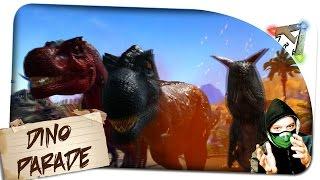 getlinkyoutube.com-Giganotosaurus: GrößenVergleich aller Dinos | T-Rex etc.bis 226 | Ark Survival Evolved: