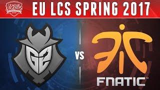 getlinkyoutube.com-G2 vs FNC, Game 3 - EU LCS 2017 Spring - G2 Esports vs Fnatic G3