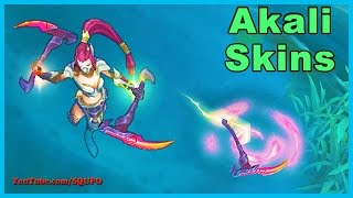 All Akali Skins (League of Legends)
