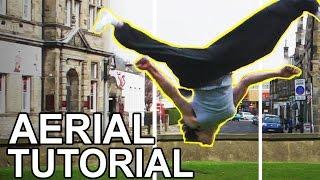 getlinkyoutube.com-Beginner AERIAL Tutorial - Martial Arts, Parkour, Stunts -  Rustic B