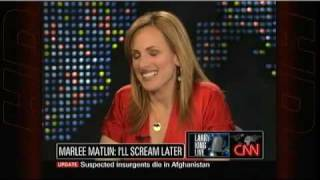 Marlee Matlin on Larry King Live (Subtitles)