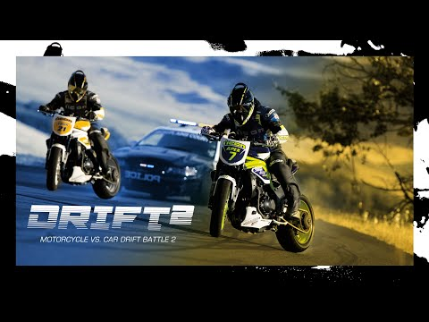 Motorcycle vs. Car Drift Battle 2