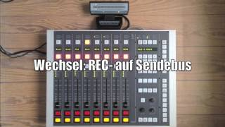 getlinkyoutube.com-DHD RM 4200 Digital Radio Broadcast Mischpult Konsole mit mAirList Mika Arm & Neumann BCM 104
