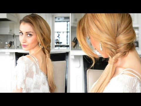 Glamorous Fishtail Braided Ponytail | Perfect for Prom | Fancy Hair Tutorial