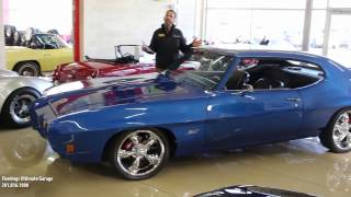 1970 Pontiac GTO for sale with test drive, driving sounds, and walk through video