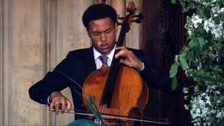 Royal wedding cellist: Teenaged musician Sheku Kanneh-Mason wows guests width=
