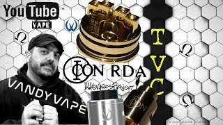 ICON RDA By Vandy Vape - A Mike Vapes Project On TVC