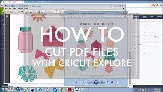 getlinkyoutube.com-How to Cut a PDF File with Cricut Explore