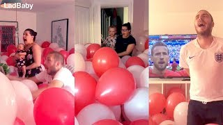 When dad fills the house with balloons for the World Cup! 🦁🦁🦁 width=