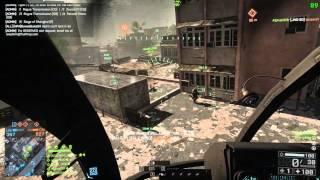 getlinkyoutube.com-Battlefield 4 92 Killstreak Scout Helicopter Gameplay