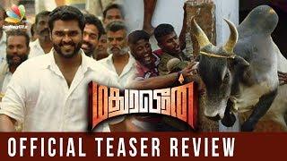 Madura Veeran Offical Teaser Review   ShanmugaPandian Vijayakanth Movie