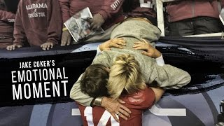 getlinkyoutube.com-Jake Coker's emotional moment after the 2015 SEC Championship