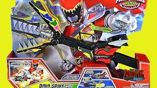 getlinkyoutube.com-NEW Power Rangers Dino Charge Dino Spike Battle Sword Review!