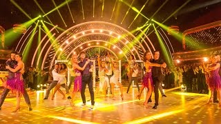 getlinkyoutube.com-Strictly Group Dance to 'I Wanna Dance With Somebody' - Strictly Come Dancing: 2015