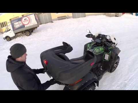 CF Moto X6 tuning